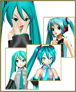 There are so many Miku Models ... how can you identify the Miku model you are looking for?