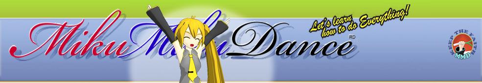 Learn MikuMikuDance – MMD Tutorials – Free 3D Animation Software