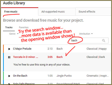 The You Tube Audio Library makes free music available to video makers, including MMDers!