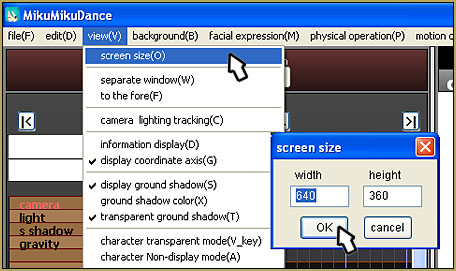 File... Screen Size... and enter your numbers. Go widescreen!