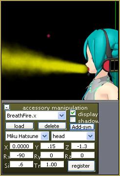 FIRE BREATH effect is included in Beamman's Breath Effect v1.1