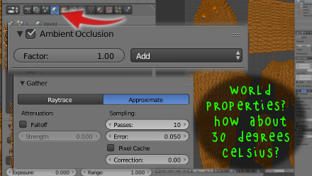 Blender Enable Ambient Occlusion