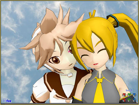 the o_ShaderCustomSet_v0_3 SEPIA effect... applied only to Len.