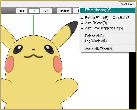 Use Effect Mapping to apply the Toon Shader effect to your model.