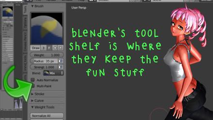 Blender's Tool Shelf