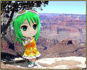 Gumi visits the Grand Canyon!