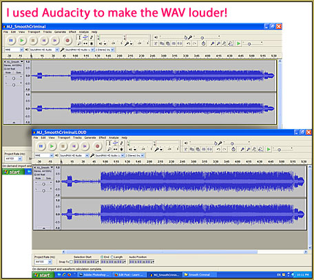 Audacity Audio Editnig software is easy to use for us MMDers.
