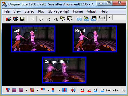Use StereoMovie Maker to produce stereo MMD videos