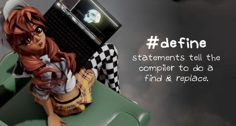 #define statements