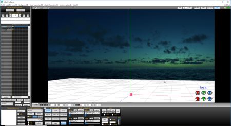 Your new Ray-MMD custom sky box is now ready for use in MikuMikuDance MMD.