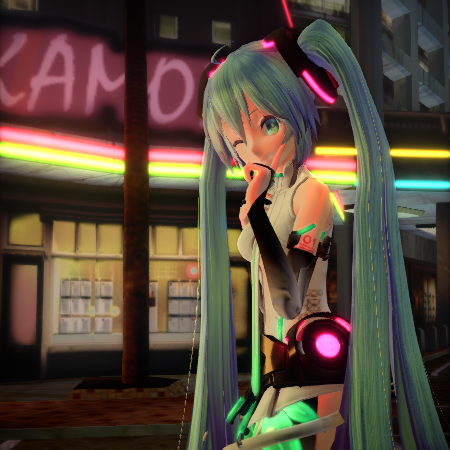 Ray-MMD Advanced Lighting: A Night on the Town... Trackdancer shows a method to create a fantastic nighttime scene in MMD MikuMikuDance.