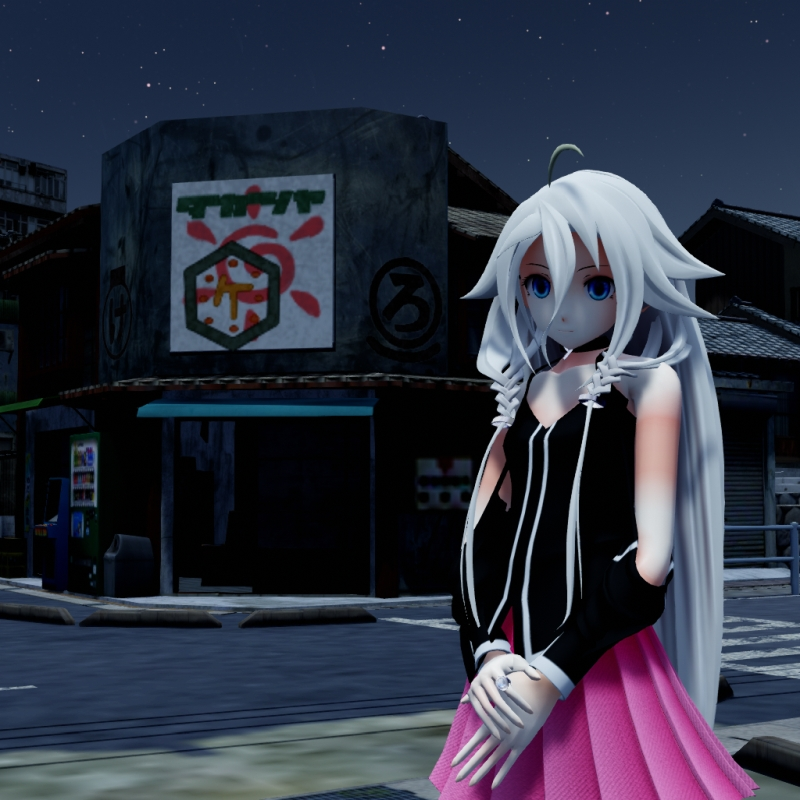 An MMD town stage: Making Kerorin Town Great Again - Part 3