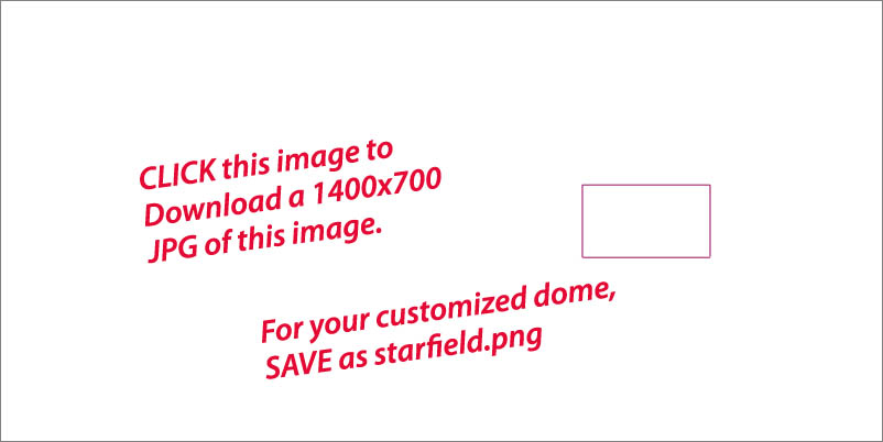 CLICK this image to open a 1400 x 700 .JPG file showing customized skydome image location.
