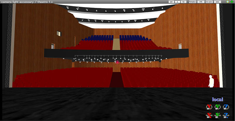 This opera-house stage is huge... and removing unseen parts optimises computer assets allowing for MMD to run faster on your computer.
