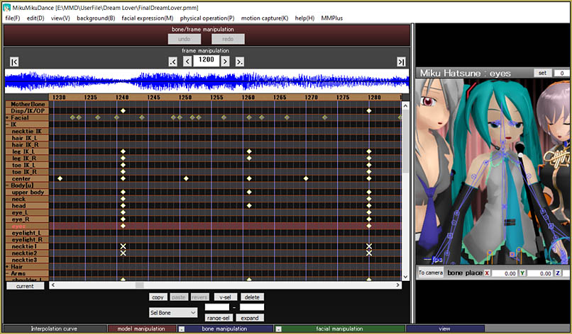 This MMD ballad motion was slow and easy... easy to make, too!