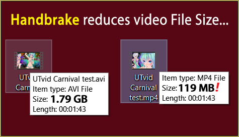 I use HandBrake to reduce MMD video file size before I upload the video to YouTube!