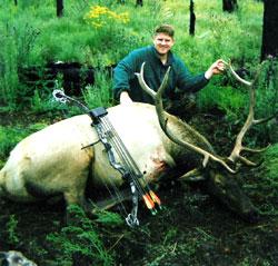 Brett Gorrell WA 6x6 archery bull