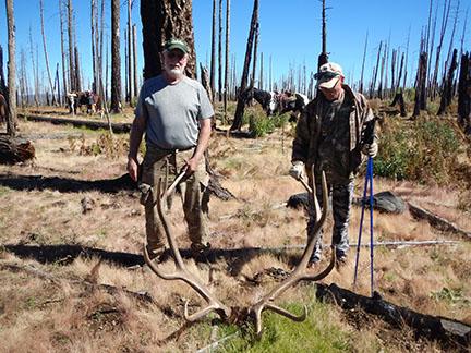 Tex and Lynn Gila Wilderness 2014