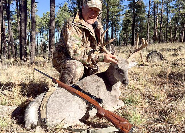 Tim Bramble TX Coues deer, 110 68 rifle