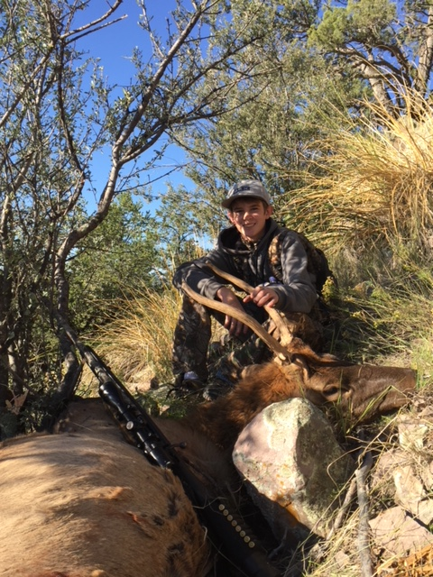 Koby Aley, NM - youth  bull hunt