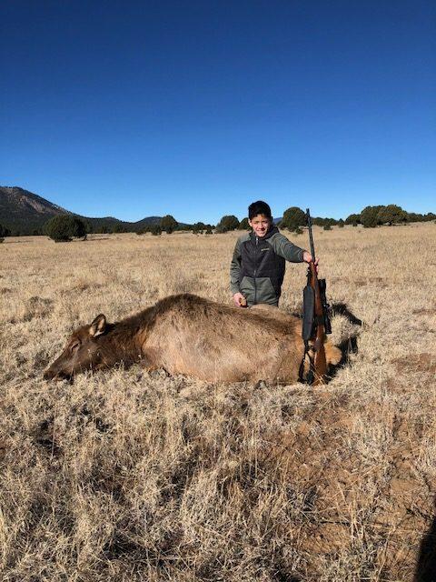 Felipe Gonzalez, NM - Youth Cow Elk