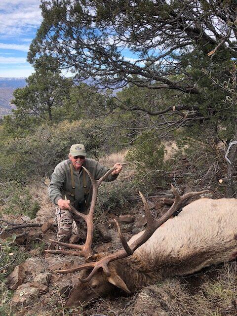 Stan Hauxwell, OR. 345 SCI 5x7, AZ Rifle