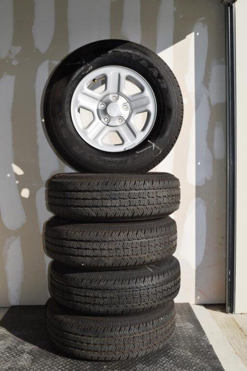 jeep wheels steel 16 inch for sale