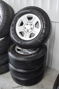 used 16 inch jeep steel wheels