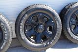 dodge ram 2500 8 lug black oem wheels
