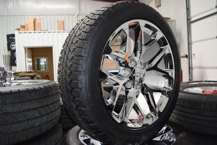 Chevy 22 Inch OEM Tahoe Suburban Silverado Wheels Rims