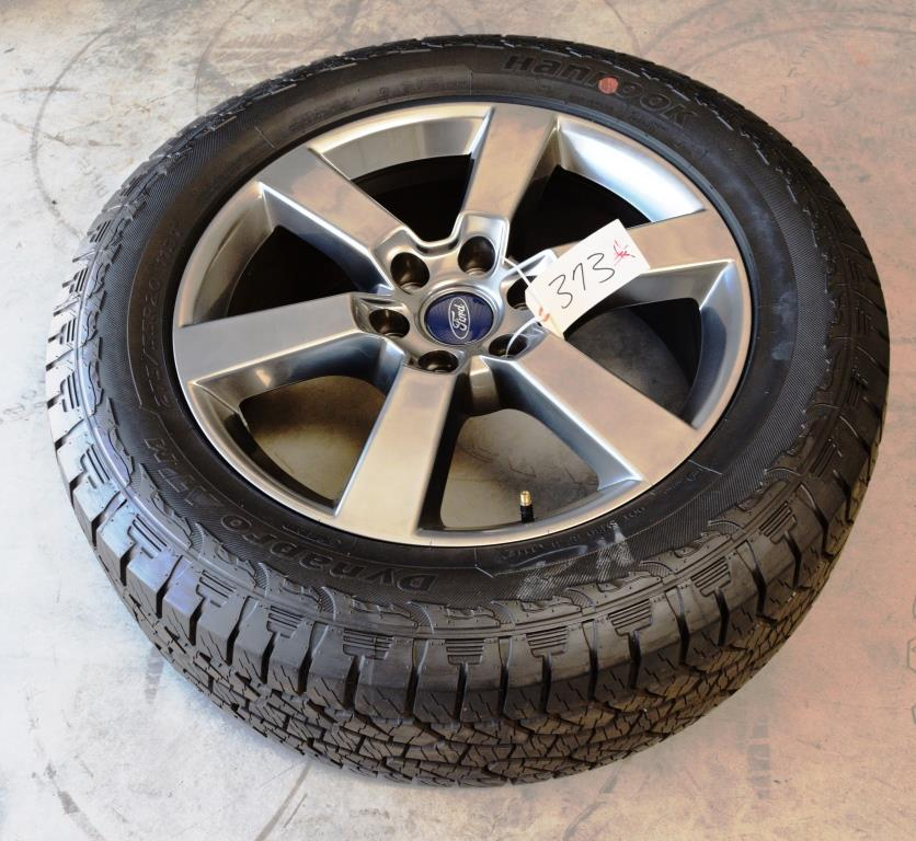 ford f150 fx4 grey oem factory 20 inch wheel tire package