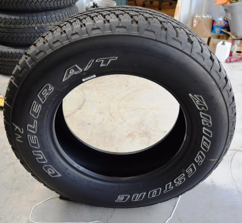 bridgestone dueler P255 70R18 jeep tires for sale