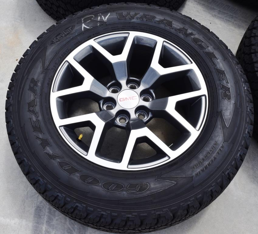 gmc canyon colorado oem wheels tires