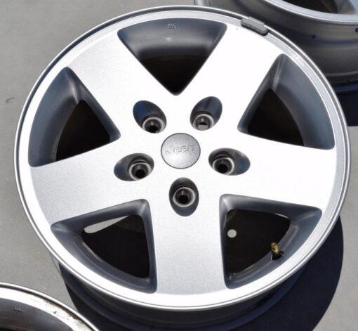 jeep wrangler sport 17 inch wheels