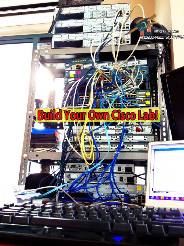How To Build Your Own CCNA Lab