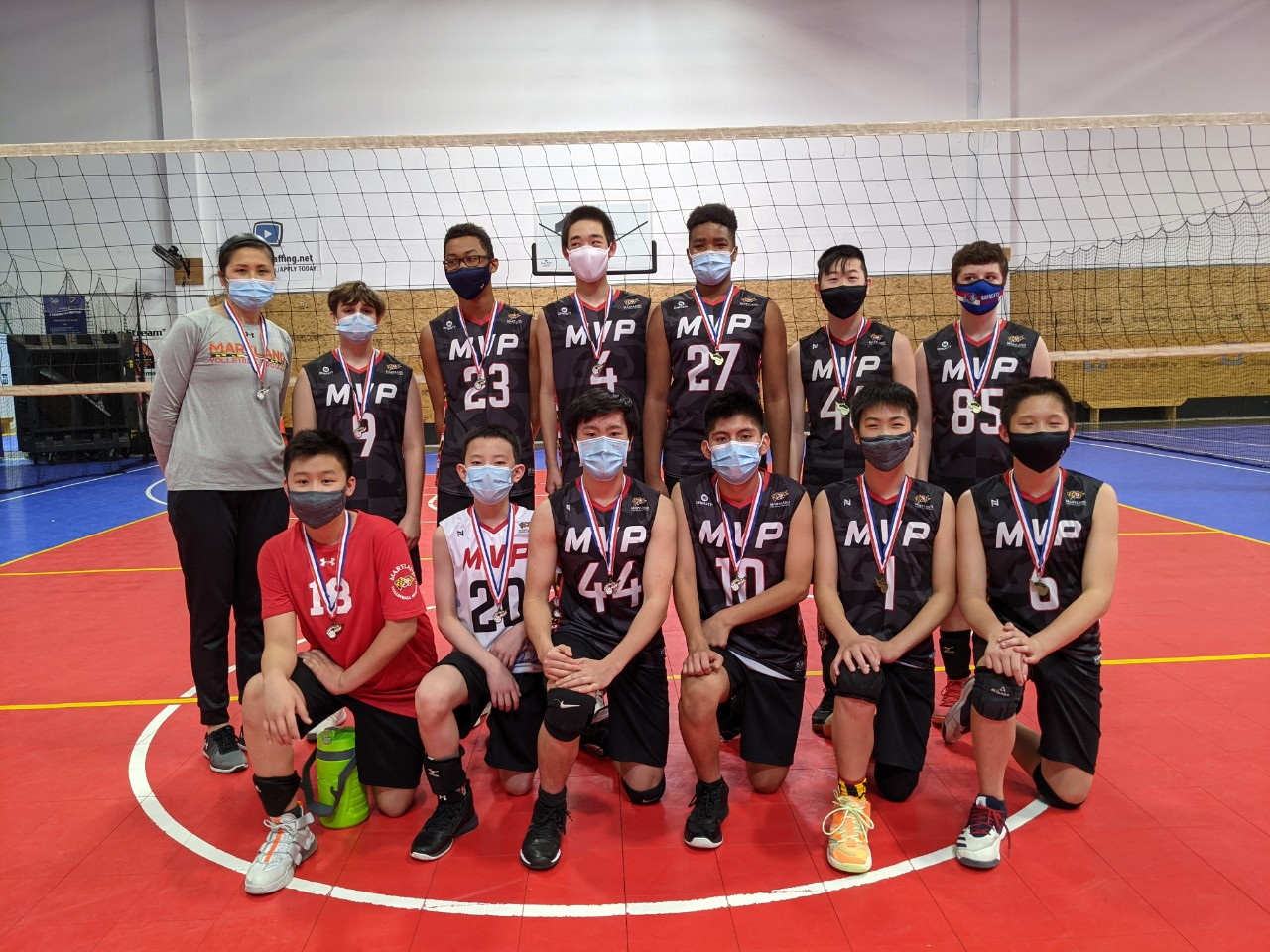 MVP 14s Sweep the MD Jrs 13/14 Mixed Tournament