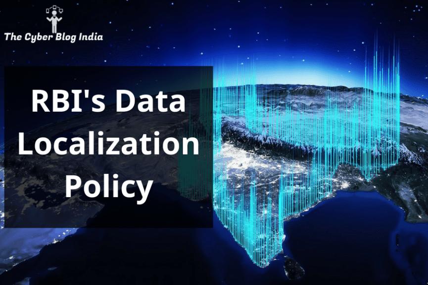RBI's Data Localization Policy