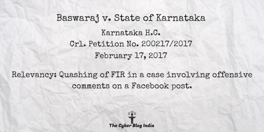 Baswaraj v. State of Karnataka