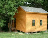 Rustic Cabin Camping