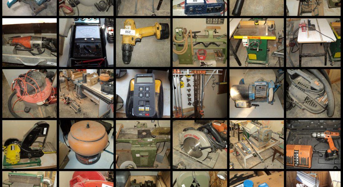 Woodworking Equipment & Shop Online Auction