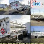 528 Y-12 Consolidate Nuclear Security Hydrogen Tank Trailers