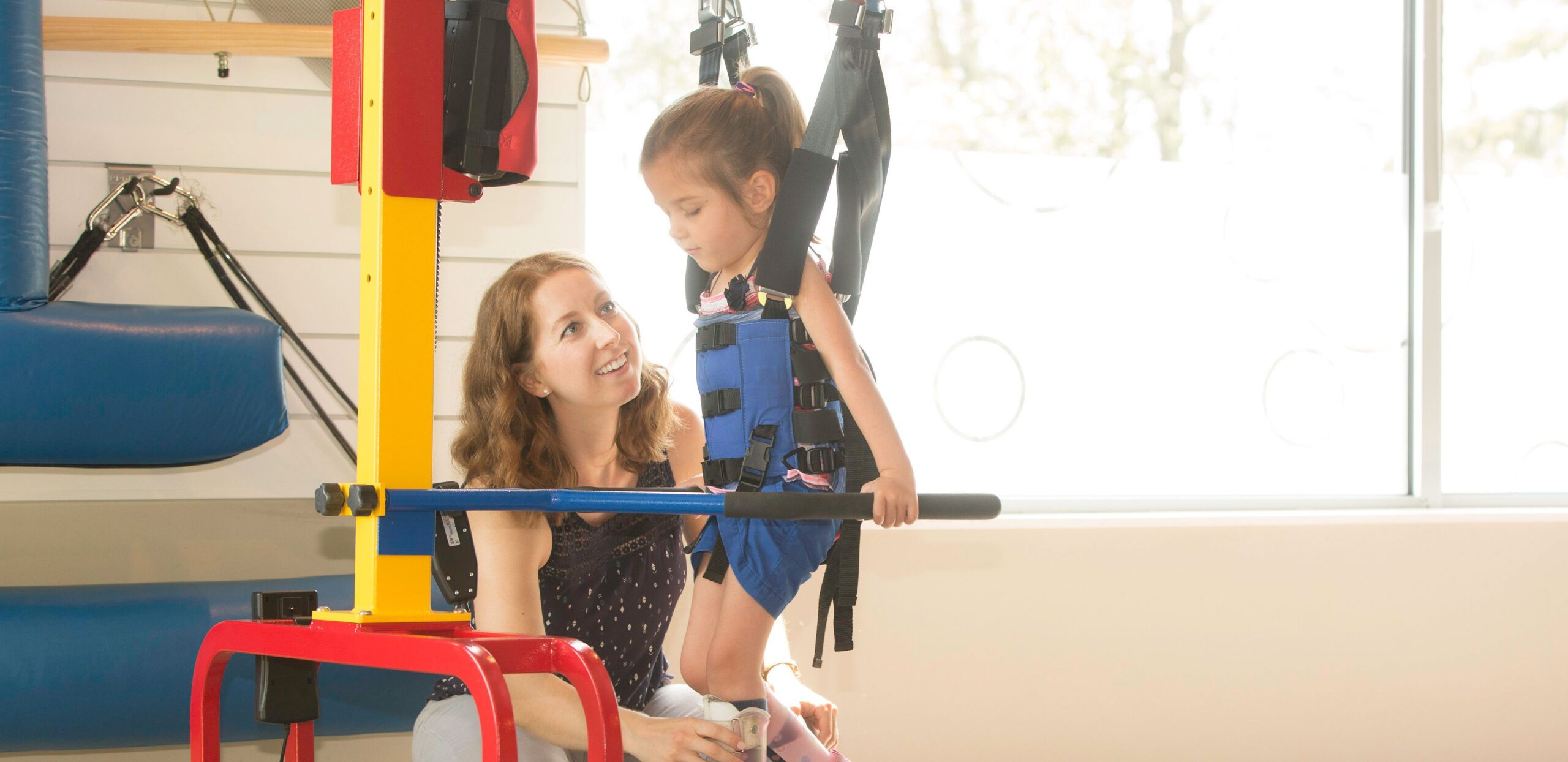 Child with physical developmental disability