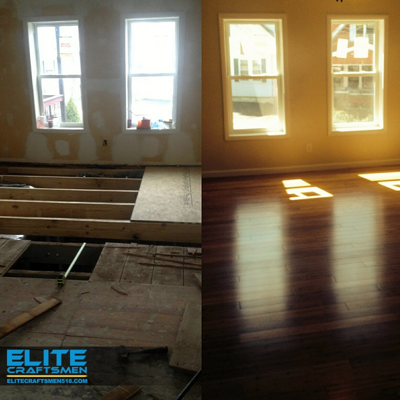 Flooring Remodeling by Elite Craftsmen