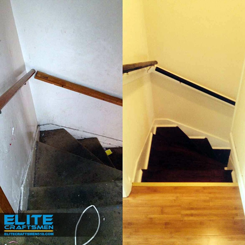 Stair Remodeling by Elite Craftsmen