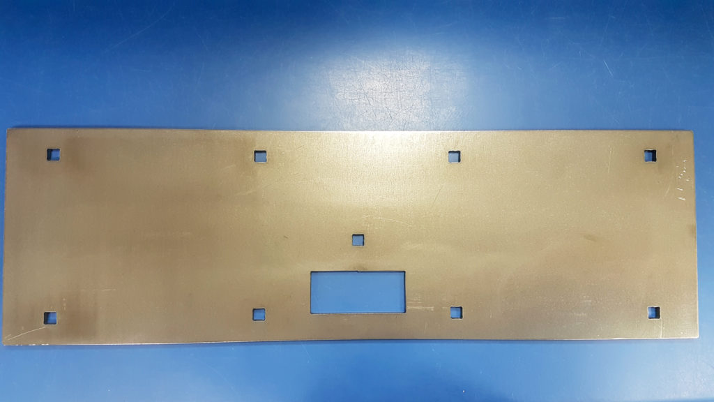 Overview of Changer Armer plate