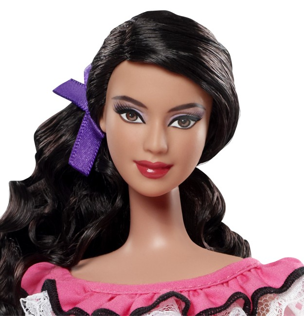 Click to view article around Mexican Barbie doll controversy.