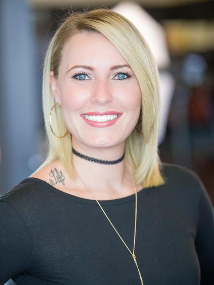Jade McAuley hair stylist and colorist at HairMates salon