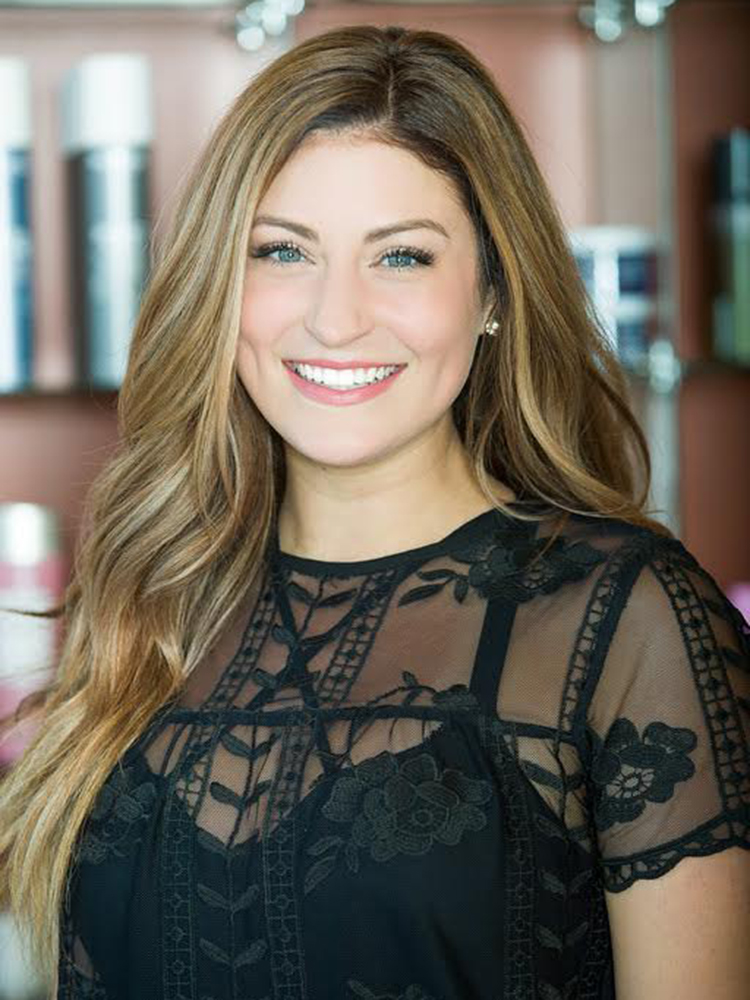 Extension specialist, hair stylist and colorist Jenn Antonelli