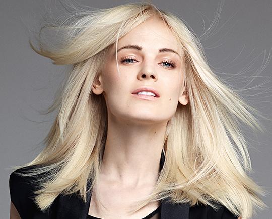 blonde hair coloring at stoneham MA hair salon