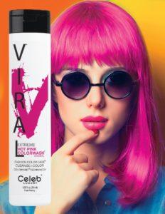Photo of VIRAL Bold Tones Extreme Hot Pink Colorwash Shampoo Bottlesold atStoneham Hair Salon